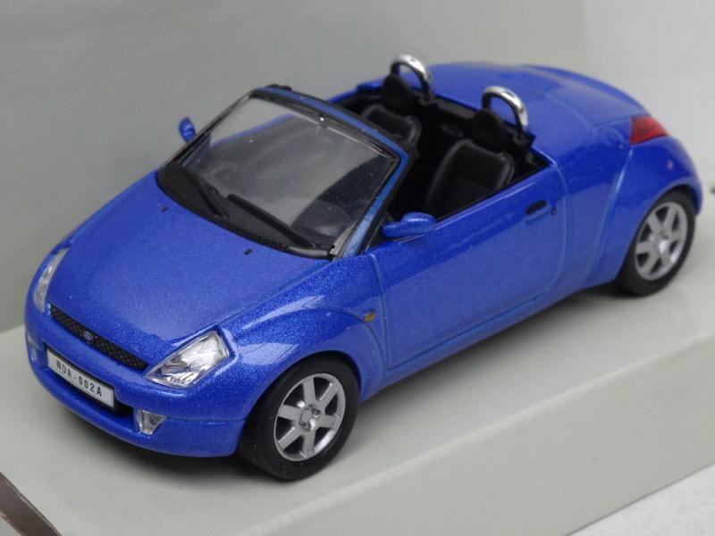 schuco ford street ka cabriolet blue. Black Bedroom Furniture Sets. Home Design Ideas