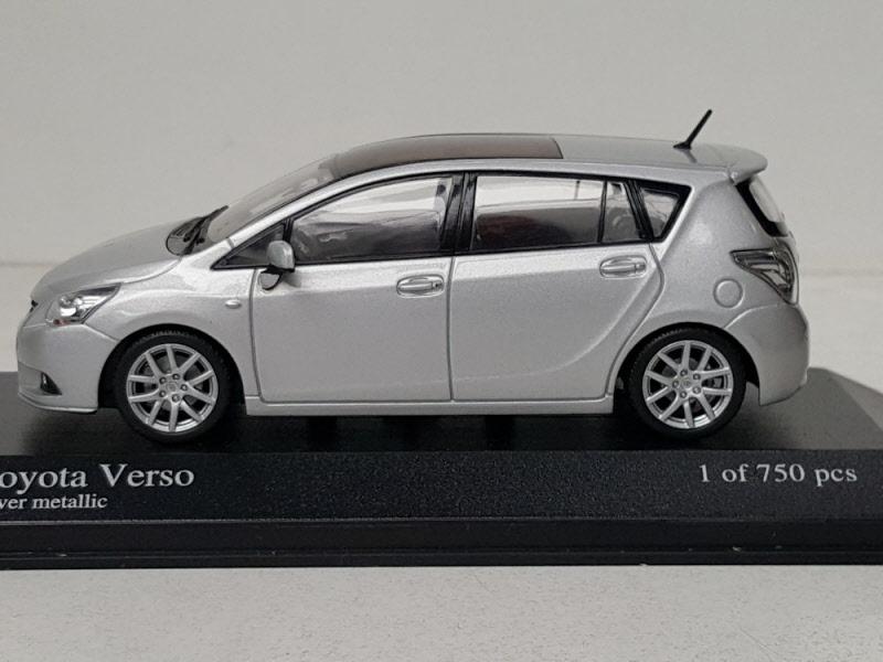 Toyota Verso Nieuw Model >> Minichamps Toyota Verso 2009 Zilver | 400166970 | 4012138097315
