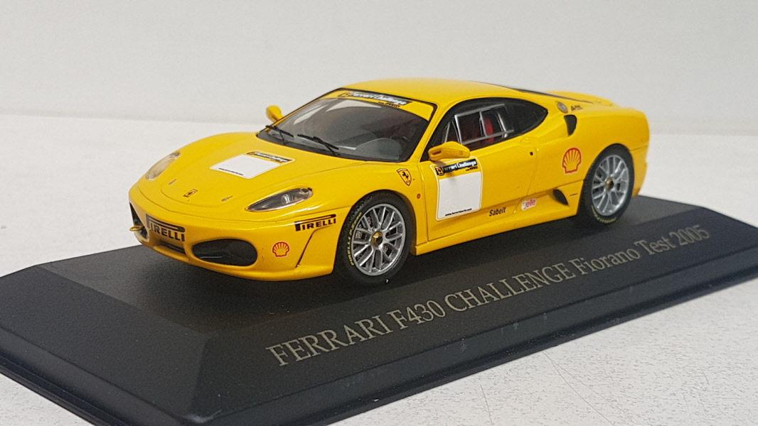 Hot-Wheels Ferrari F430 Challenge Fiorano test 2005